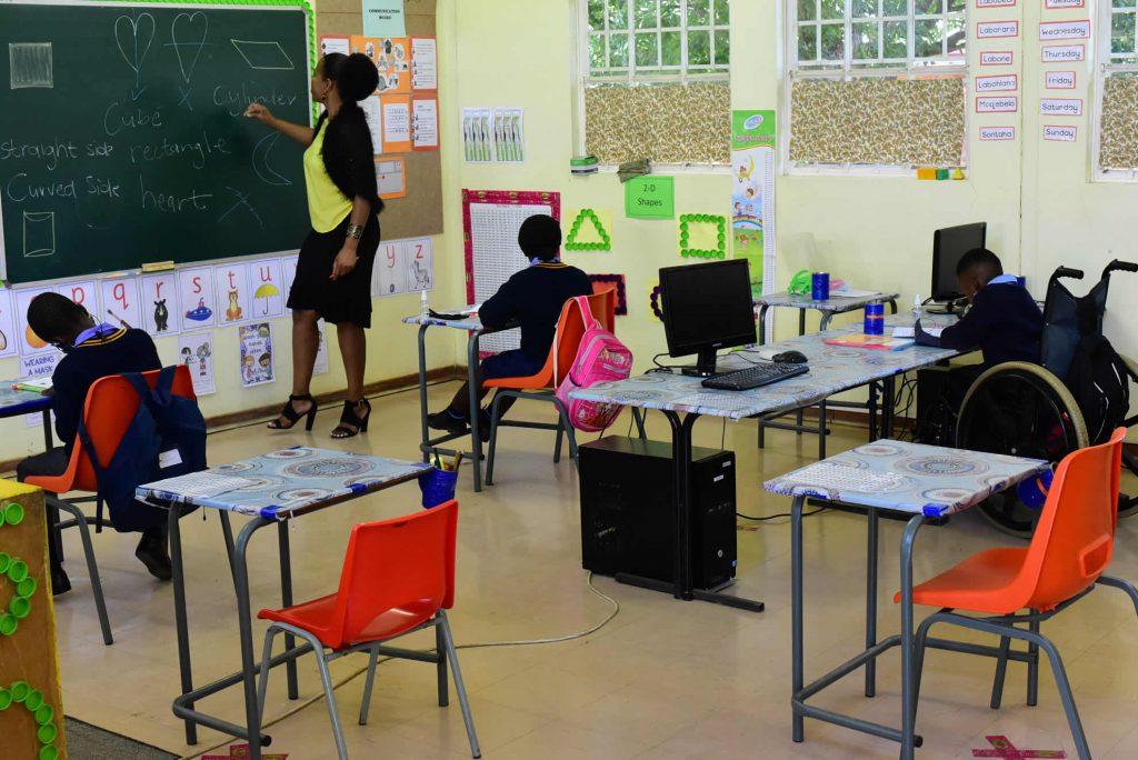 Tswellang Special School Classroom